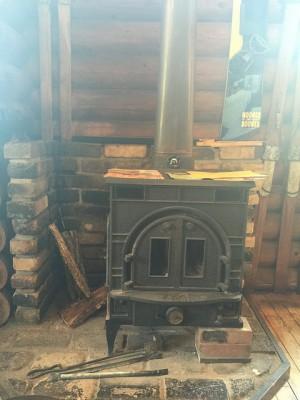 Seebrick's woodstove ゼーブリックの薪ストーブ